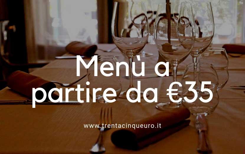 Menù 35 euro
